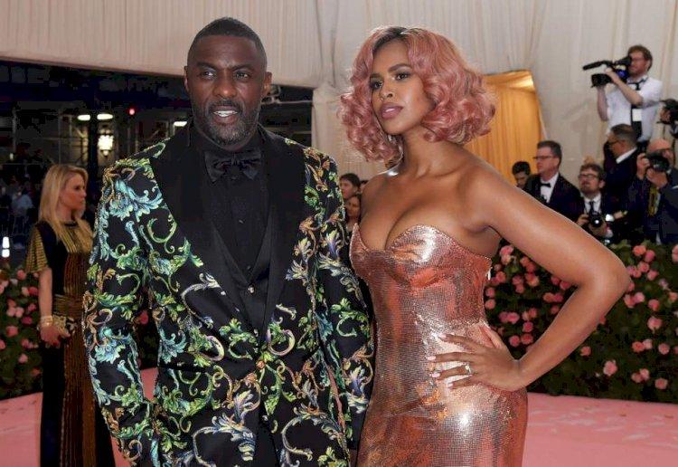 Lupita Nyong'o, Idris Elba & Danai Gurira at the Met Gala 2019