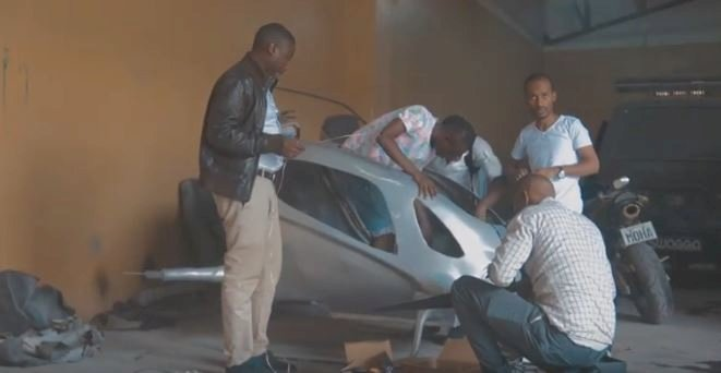 Kenyan Inventor of 1st Flying Taxi in Africa