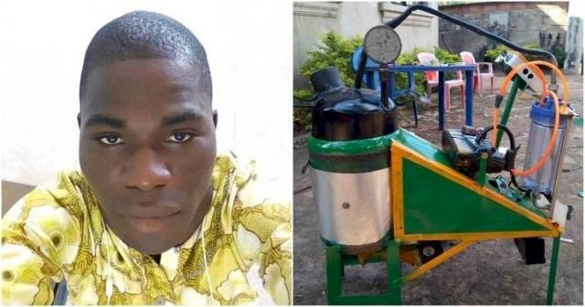 Nigerian Inventor and the Generator that runs on water