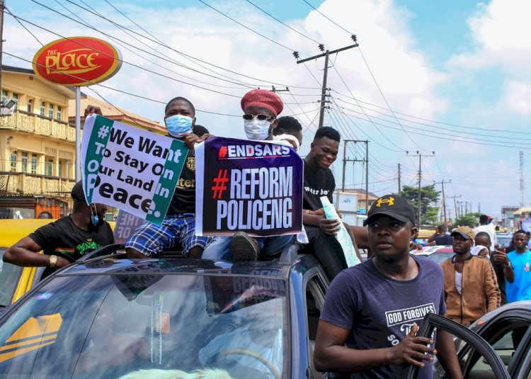 DÉJÀ VU – In Tragic Vein - A letter from Wole Soyinka amidst the protest in Nigeria