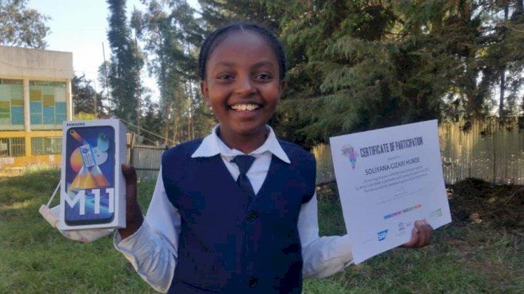 Meet Ethiopia's Ten-Year-Old Coding Champion